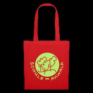 Taschen & Rucksäcke ~ Stoffbeutel ~ Tragetasche rot