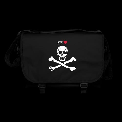 Aye ♥ pirates - Umhängetasche