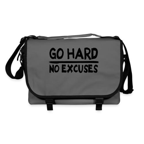 go hard, no excuses bag - Schoudertas