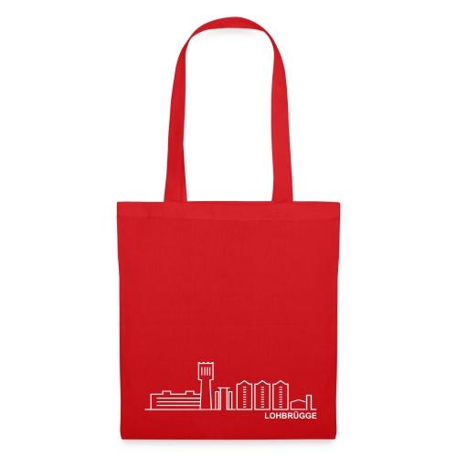 Tasche mit der Skyline von Lohbrügge. - Stoffbeutel