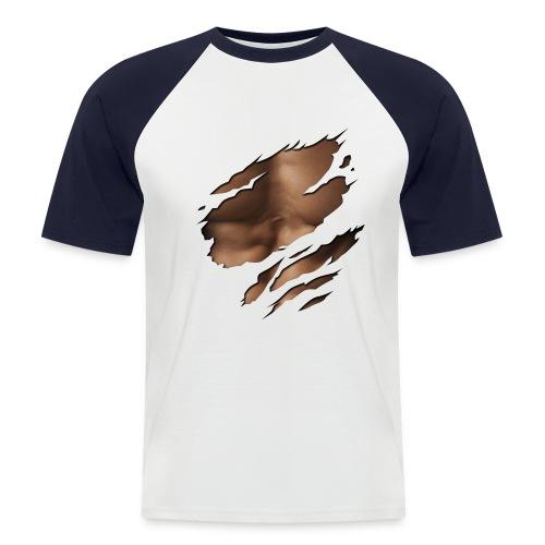 T-Shirt Muscolosa - Maglia da baseball a manica corta da uomo