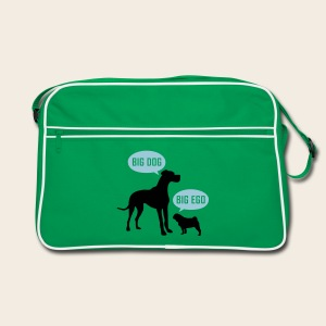 Big Dog  vs. Big Ego - Tasche - Retro Tasche