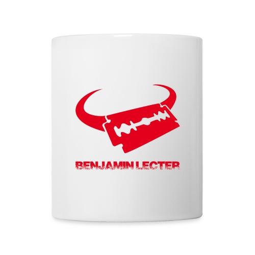 Tasse - Benjamin Lecter Logo und Schriftzug - Tasse