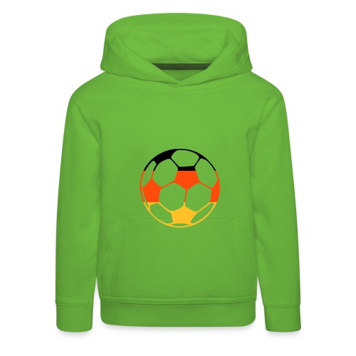 Football - Premium-Luvtröja barn