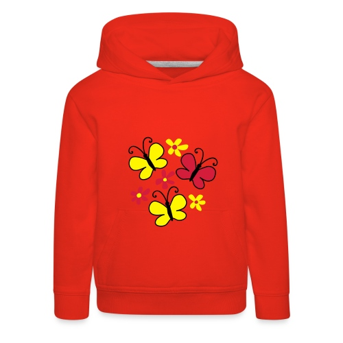 Butterflies - Premium-Luvtröja barn