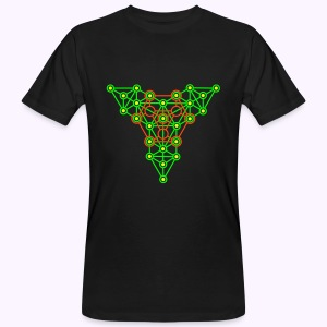 Equilibrium Tree UV-Neon Men's Bio Shirt - Mannen Bio-T-shirt