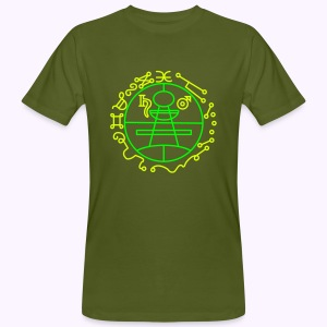 Key of Solomon UV-Neon Men's Bio Shirt - Mannen Bio-T-shirt