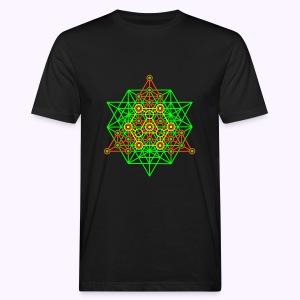 Equilibrium Tree UV-Neon Men's Bio Shirt - Mannen Bio-T-shirt