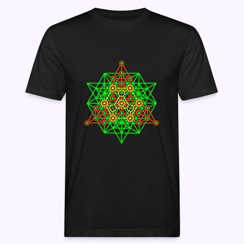 Equilibrium Tree UV-Neon Men's Bio Shirt - Men's Organic T-Shirt