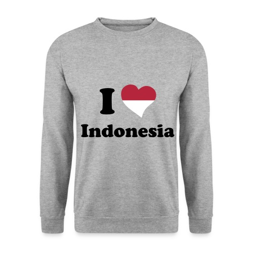 i love indonesia sweater ! - Mannen sweater