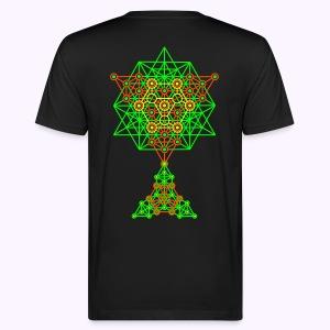 Equilibrium 2-Side UV-Neon Men's Bio Shirt - Mannen Bio-T-shirt