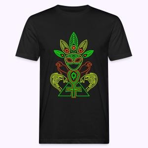 Ankhmania UV-Neon Men's Bio Shirt - Mannen Bio-T-shirt