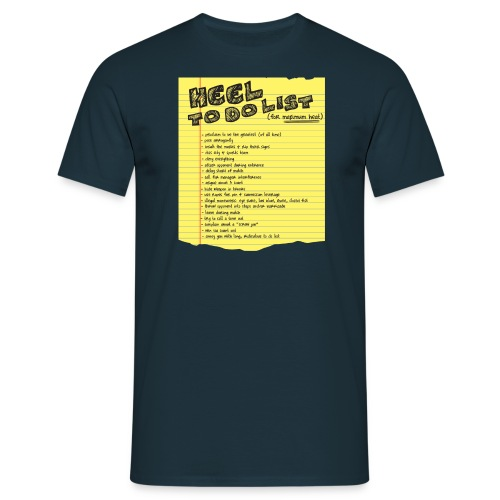 Heel To Do List (Men) - Men's T-Shirt