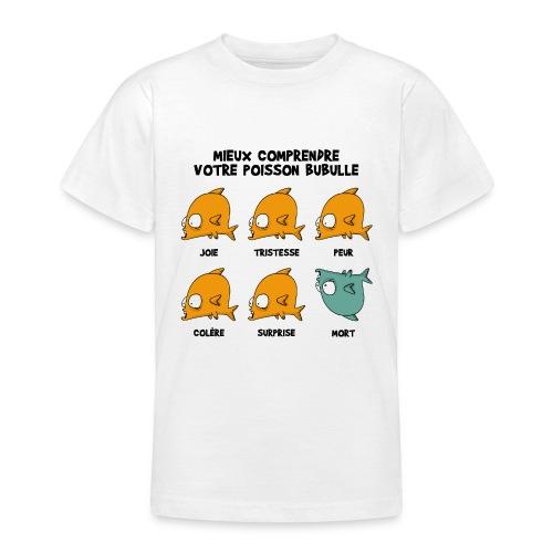 T-shirt ado Bubulle - T-shirt Ado