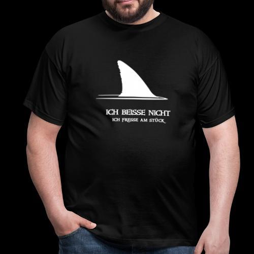 ~ Ich beiße nicht ~ - Männer T-Shirt