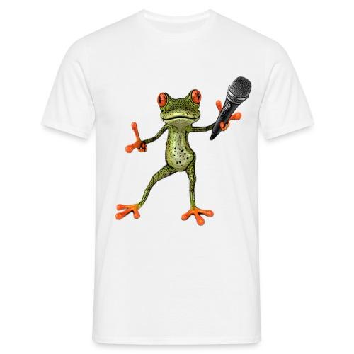 T-Shirt MC-Kröte weiß - Männer T-Shirt