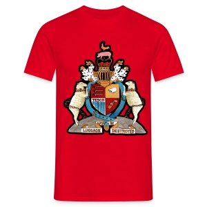Coat of Arms (Choose Colour) - Men's T-Shirt