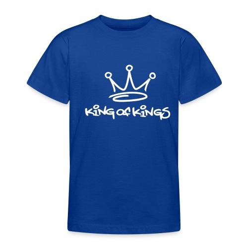 King of kings (white) - Teenage T-Shirt