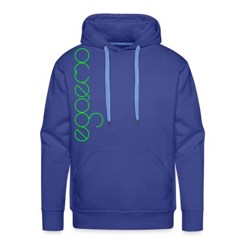 Ego Vs Emo - 01 - Hoodie - Neongrün  - Männer Premium Hoodie