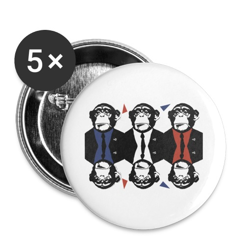Badge Monkey Business - Badge grand 56 mm