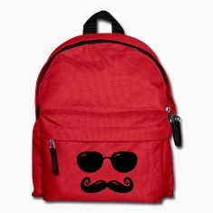 sunglasses and moustache Bags