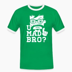Like a cool you mad story bro moustache T-skjorter