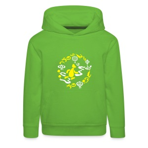 Playing with a Dragon - Kids' Premium Hoodie