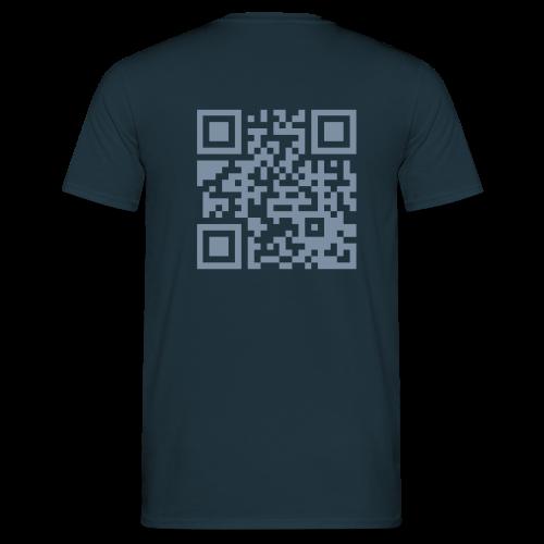 T-shirt med QR-kod - T-shirt herr