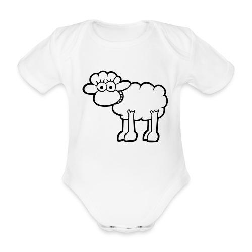 baby romper - Baby bio-rompertje met korte mouwen
