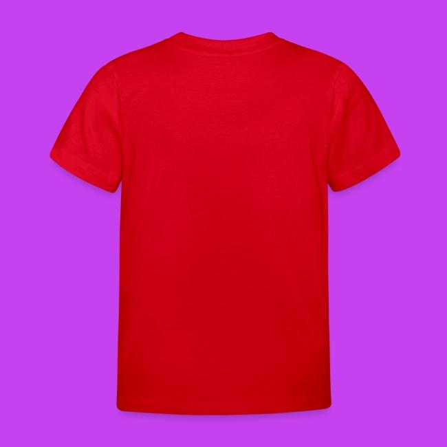 Purple Cat Sleeping Kids T Shirt