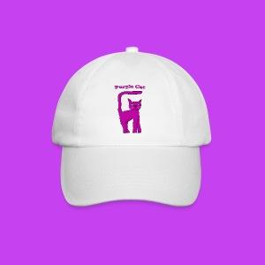 Purple Cat Baseball Cap - Baseball Cap