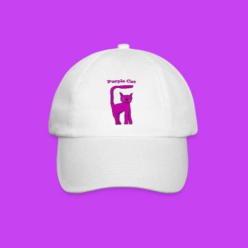 Purple Cat Baseball Cap - Baseball Cap