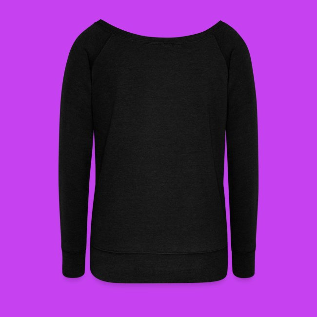 Purple cat sleeping ladies long sleeve fashion top