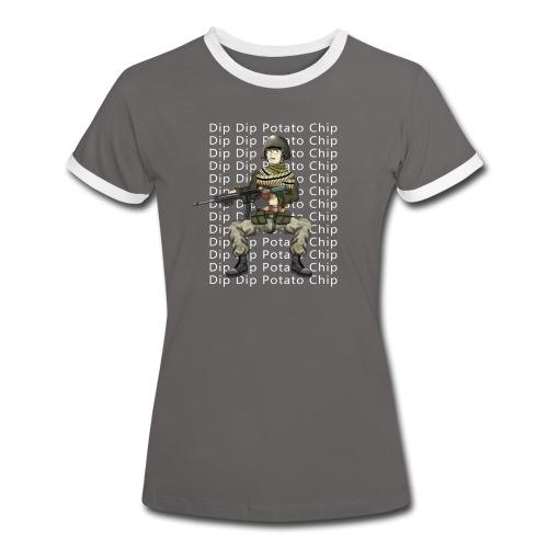 Dip Dip Potato Chip - Women's - Women's Ringer T-Shirt