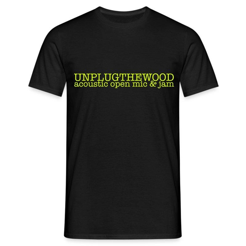 Unplug The Wood - T-shirt - Letterbox Neon - Mens - Men's T-Shirt