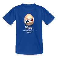 Shirts ~ Teenage T-shirt ~ Jason's a Moron - 3D Glasses - Womens Shirt