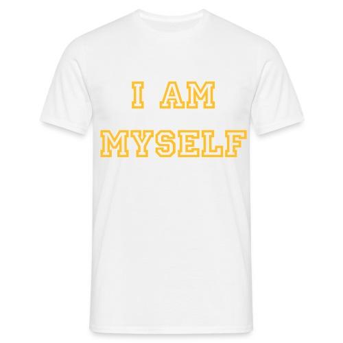I Am Myself - T-shirt Homme