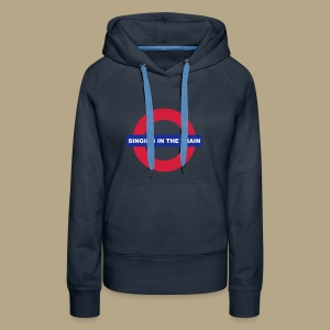 Singing in the train - Frauen Premium Hoodie