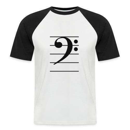 T-shirt Bass Key - Maglia da baseball a manica corta da uomo