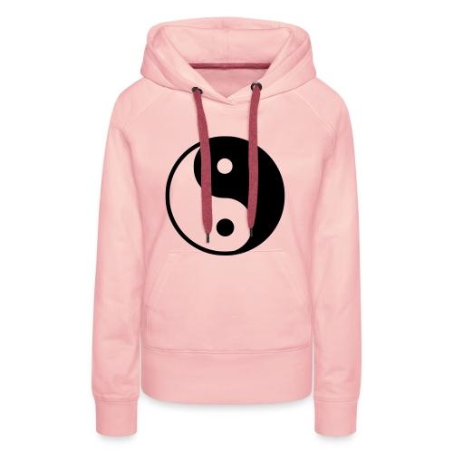 Sweater - Yingyang. - Vrouwen Premium hoodie