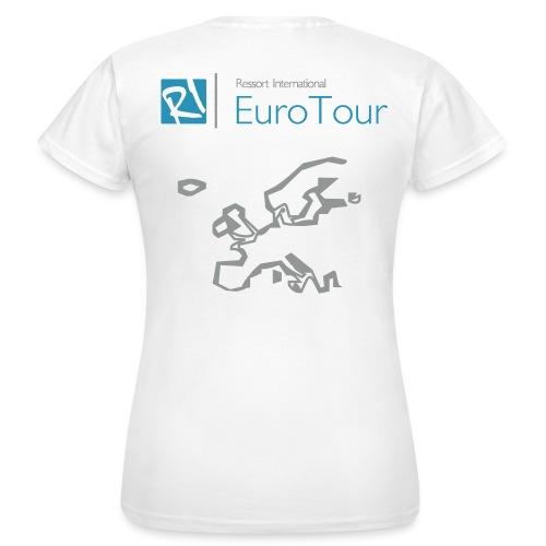 EuroTour (f) - Women's T-Shirt
