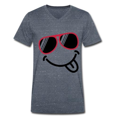 mannen tshirt V-hals - Mannen bio T-shirt met V-hals van Stanley & Stella
