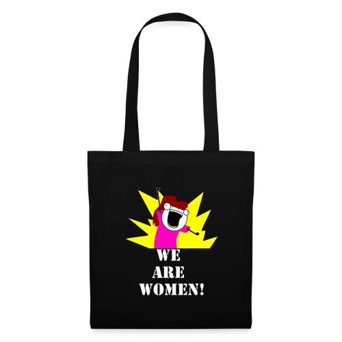 Borsa di stoffa We Are Women! - Borsa di stoffa