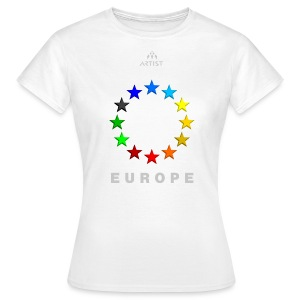 EUROPE - ARTIST - Frauen T-Shirt