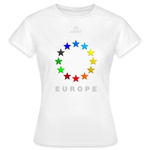 EUROPE - ARTIST - Frauen T-Shirt