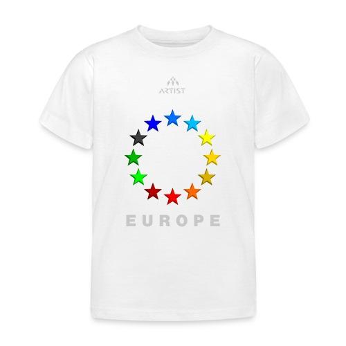 EUROPE - ARTIST - Kinder T-Shirt