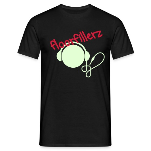 floorfillerz 'DJ glow' - Men's T-Shirt