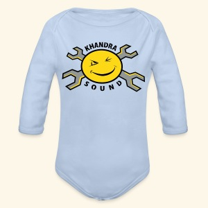 Khandra Sound New Baby Long Sleeve One Piece - Organic Longsleeve Baby Bodysuit