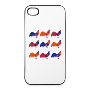 Bright Chicken Lover's iPhone 4, iPhone 4s Case - iPhone 4/4s Hard Case