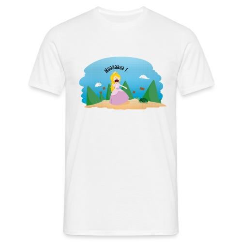 T-shirt Geek - De la phobie des tortues - T-shirt Homme